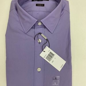 NEW MICHAEL KORS PURPLE TAILORED FIT BUTTON DOWN!